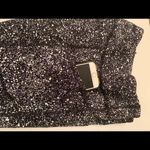 Lululemon splatter reflective leggings, worn once